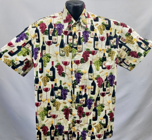 VIntage Wines-wine Hawaiian shirt